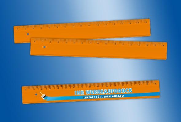 WERBELINEAL 16 cm orange