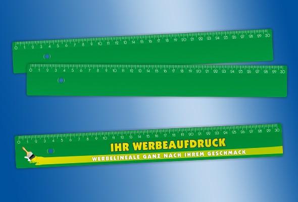WERBELINEAL 30 cm grün