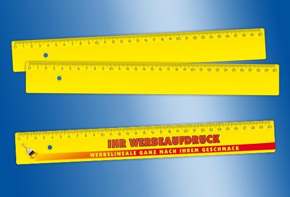 WERBELINEAL 30 cm gelb