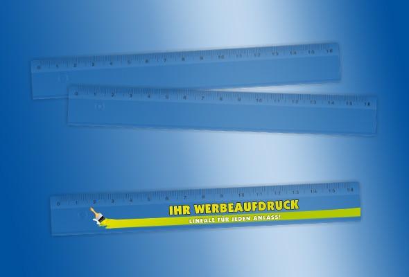 WERBELINEAL 16 cm transparent