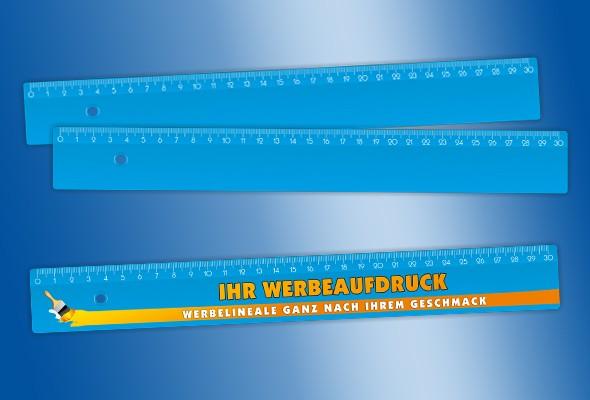 WERBELINEAL 30 cm blau