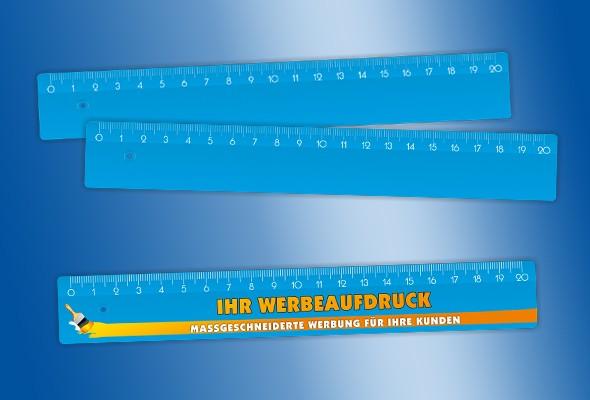 WERBELINEAL 20 cm blau
