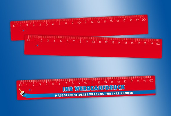 WERBELINEAL 20 cm rot