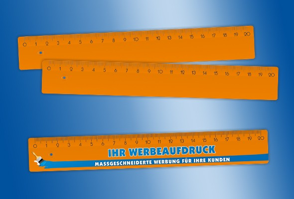 WERBELINEAL 20 cm orange
