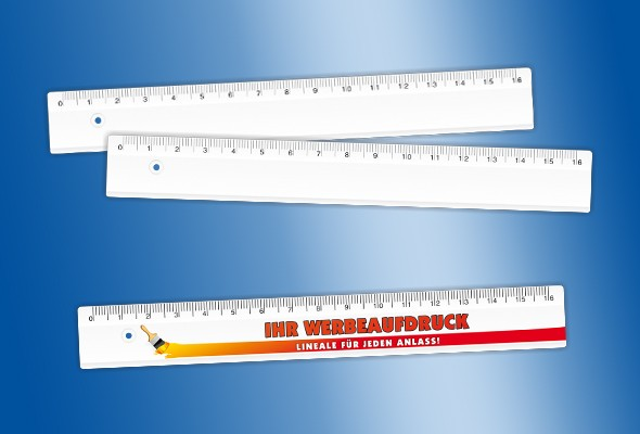 WERBELINEAL 16 cm weiß