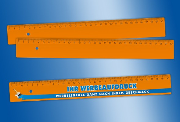 WERBELINEAL 30 cm orange